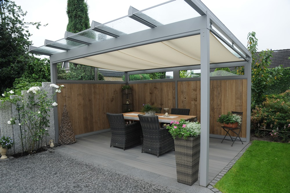 Terrasse Mit überdachung Galabau Kreyede